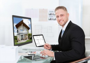 online estate agent left
