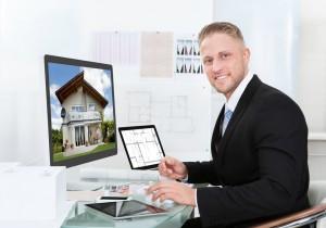 online estate agent left