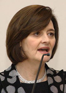 Barrister Cherie Blair is leading the legal campaign against Section 24. Photo by Jaqen (Niccolò Caranti) via Wiki